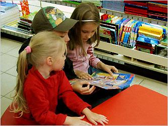 Детский уголок в Книжном Лабиринте